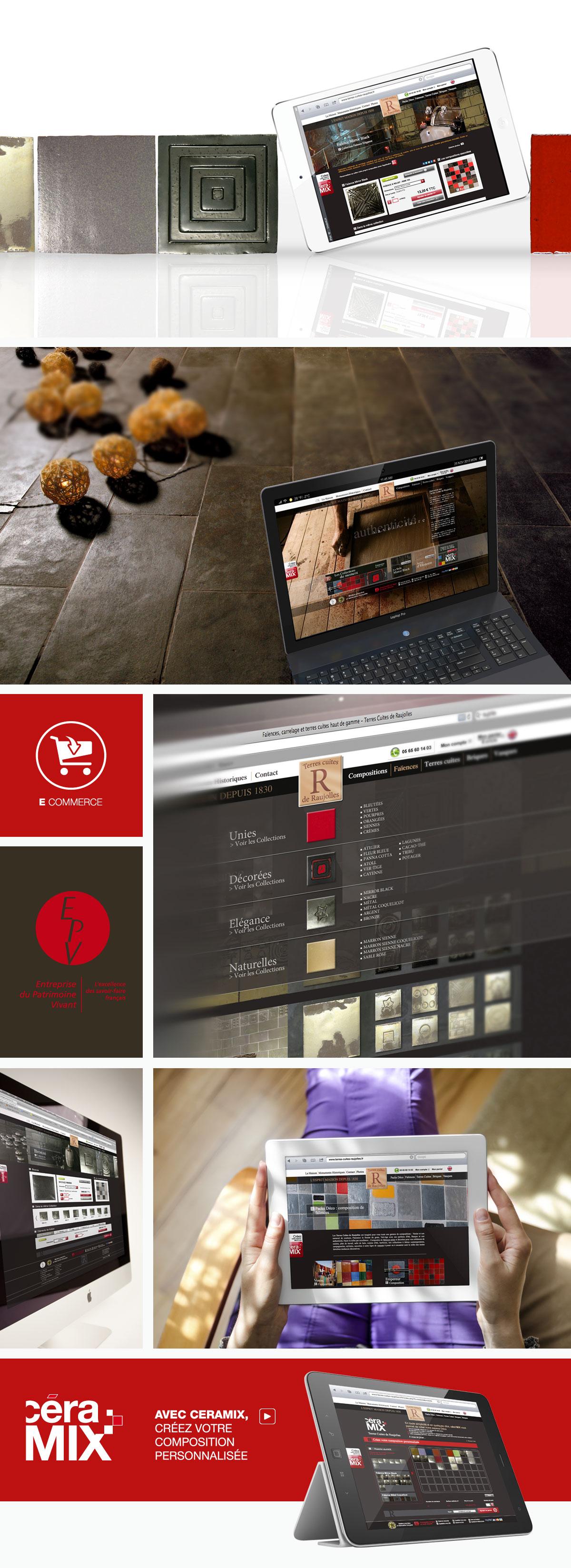 terres cuites de raujolles aveyron agence de. Black Bedroom Furniture Sets. Home Design Ideas