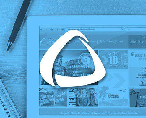 Voyages Scolaire Triangle, Création site web rodez