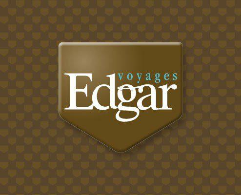 Edgar Voyage - Création graphique Identité rodez