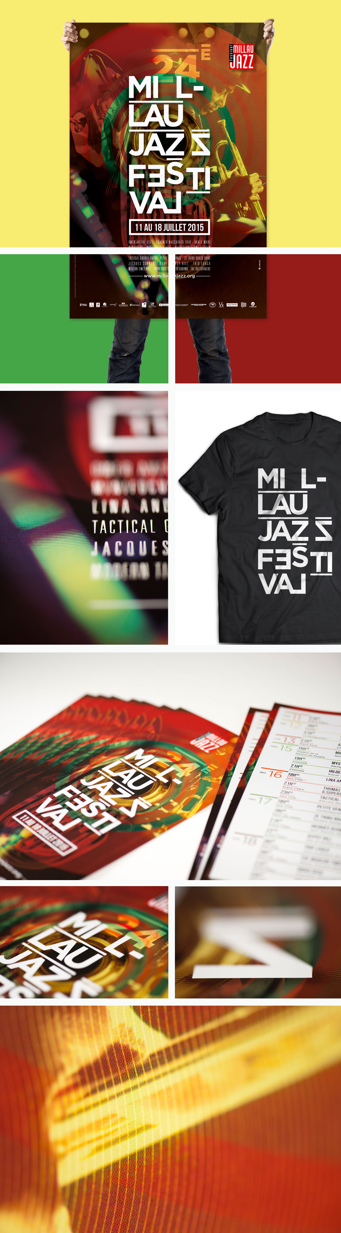 Conception graphique Millau en Jazz
