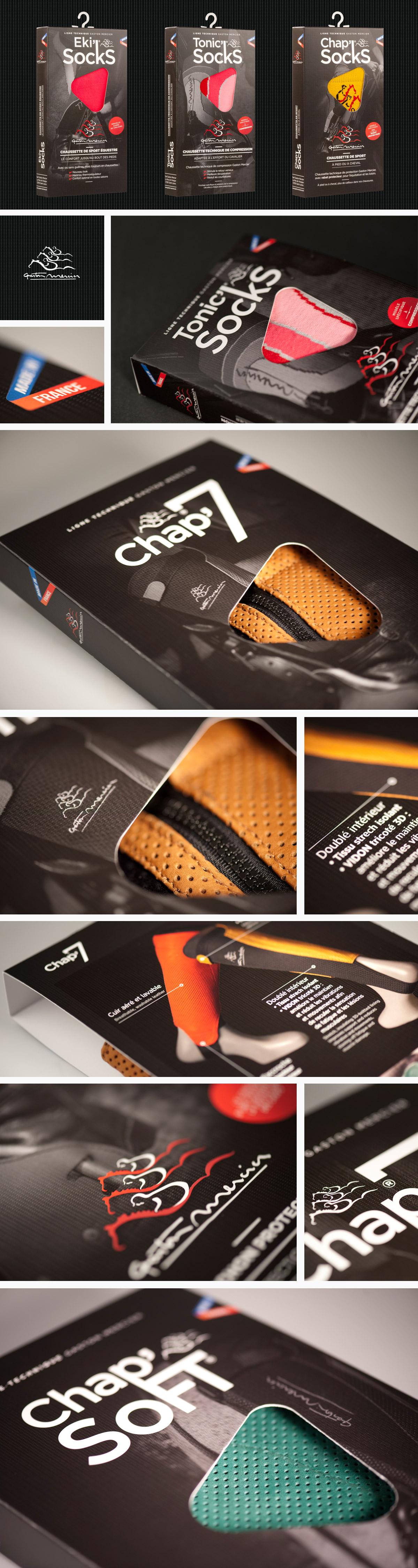 Conception graphique Packaging Gaston Mercier