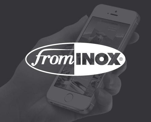 Création site web matériel de fromagerie - FROM INOX