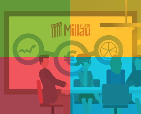 Ville de Millau : nouveau site internet responsive.